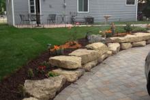Walkway-with-Decorative-Stones