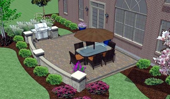 Hardscape Design | Brick Pavers | Marvins Brick Pavers | Madison WI