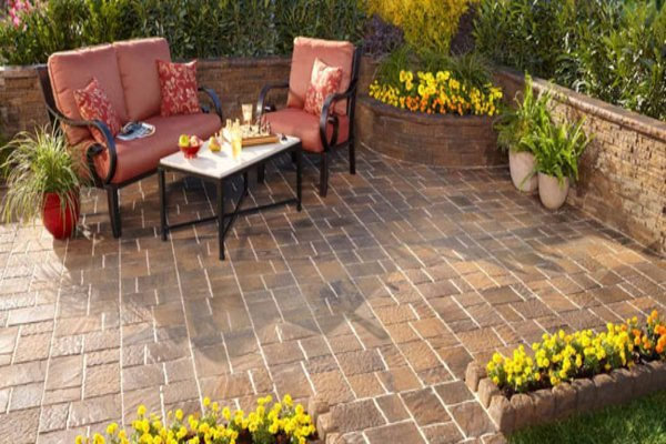 brick paver patios create a great space - Brick Paver Patio Designs