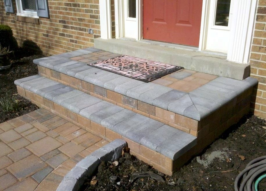 Paver Walkways Paver Stoops Marvins Brick Pavers