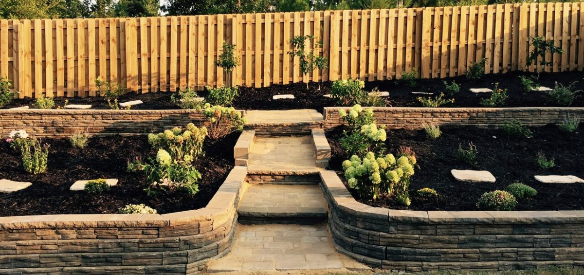 Retaining Walls | Custom Paver Walls | Marvins Brick Pavers ... on home backyard ideas, brick paver fire pit, brick retaining wall backyard ideas, brick paver landscaping, flagstone backyard ideas, used brick backyard ideas, masonry backyard ideas, concrete backyard ideas,
