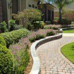 Finish Paver Hardscape With Landscape Planting