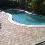 Paver Pool Deck   Marvins Brick Pavers   Madison WI