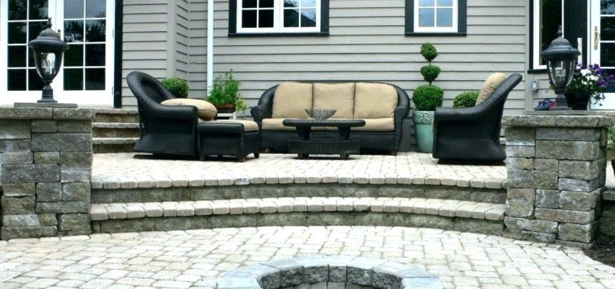 Patio Designs | Fire Pit | Marvins Brick Pavers | Madison WI