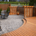 Combine Paver Patio And Deck For The Best In Outdoor Living