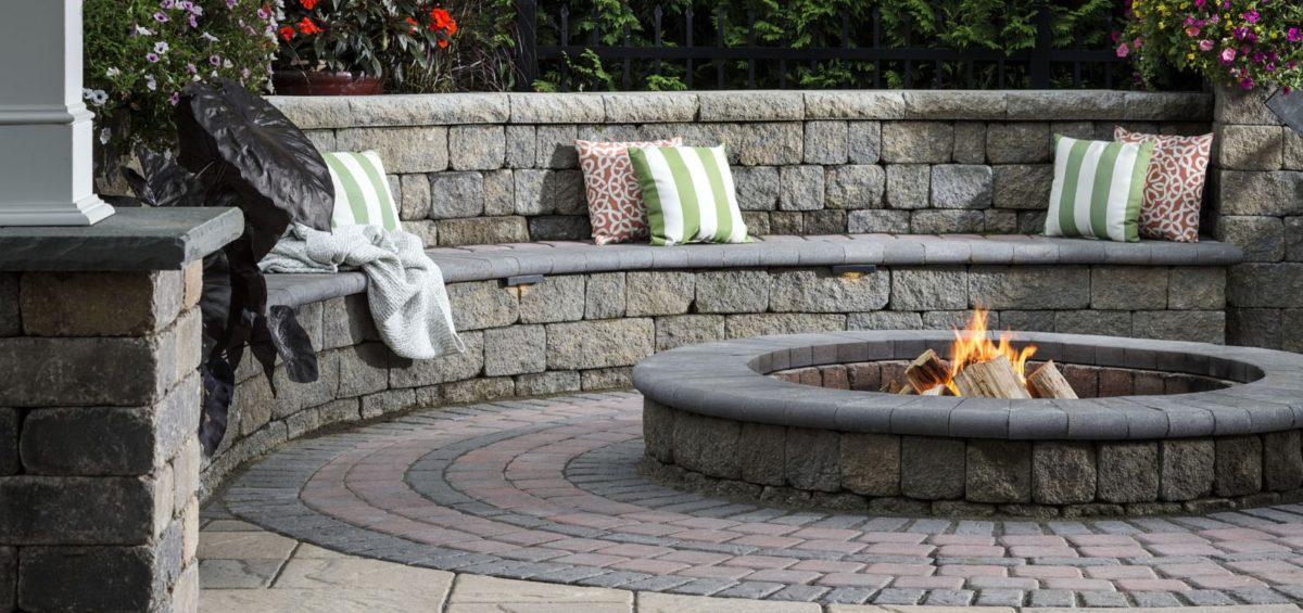 Seating Wall | Marvin's Brick Pavers | Madison WI