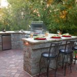 Outdoor Kitchen | Marvins Brick Pavers | Madison WI